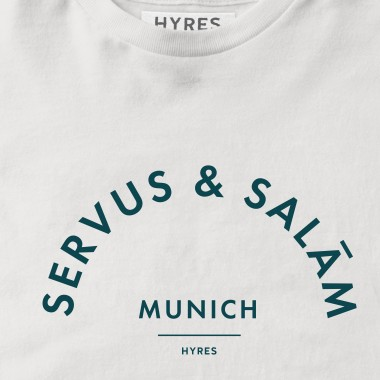 T-Shirt Servus & Salam / Off White