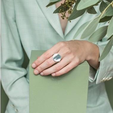 TENSE Ring   Silber