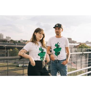 "Maraña T-Shirt ""Yerba Mate Leaf"" Damen"