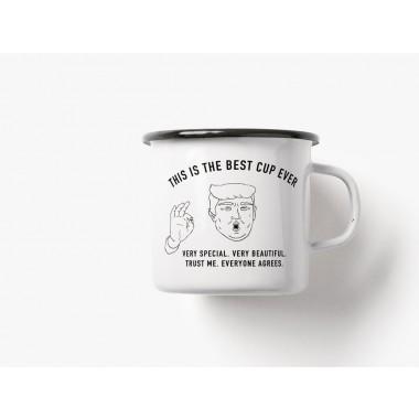 typealive / Emaillebecher Tasse / Best Cup Ever