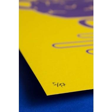 Martin Krusche - Siebdruck »Teatime« DINA3