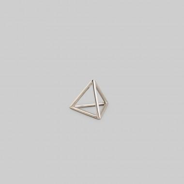 """Teresa Gruber Anhänger  platonic solids- """"Tetraeder"""" 925 Silber"""