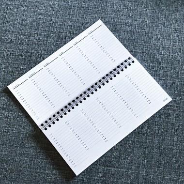 ACD DESIGN.BÜRO / Tisch-Wochenkalender Büroplaner 2020 // DIN lang 210 x 99 mm