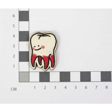 Martin Krusche - Woodpin »Tooth«
