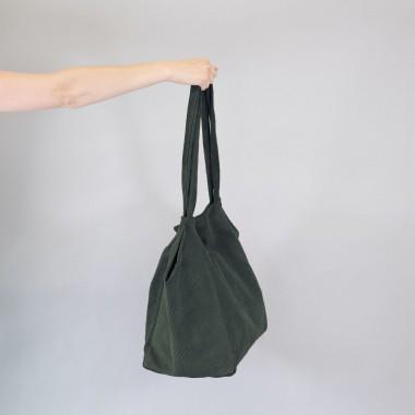 Totebag •Cord• flaschengrün