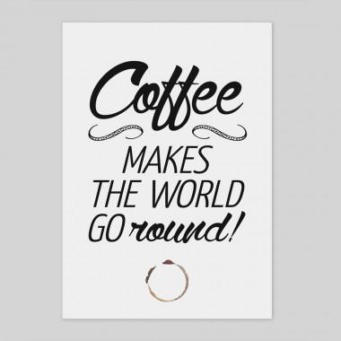 "A4 Typo Print ""Coffee"""