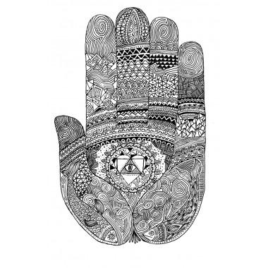 Hand of Buddha (SIEBDRUCK)