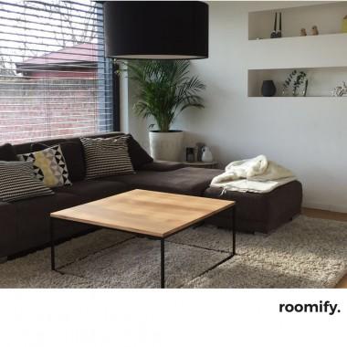 roomify Couchtisch DOMI Farben: black&white