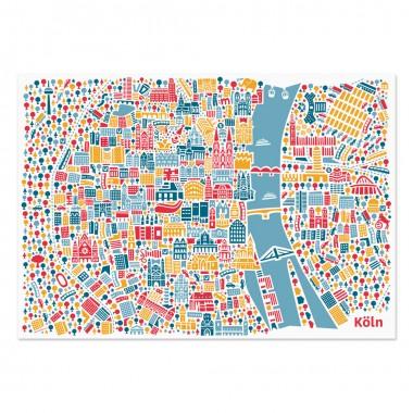 Vianina Köln Poster 70 x 50