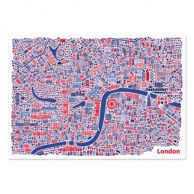 Vianina London Poster 70 x 50