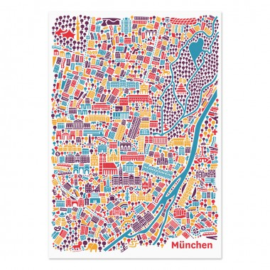 Vianina München Poster 70 x 100