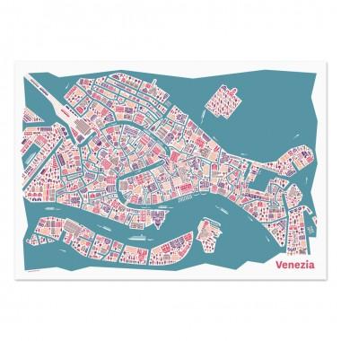 Vianina Venedig Poster 100x70