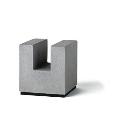 Korn Produkte Block für Businesskarten aus Beton