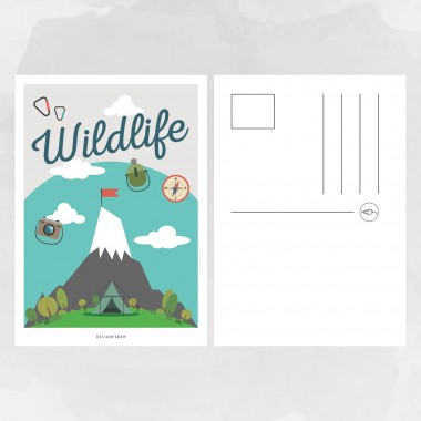 designfeder | Postkarten Adventure