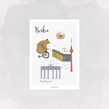 designfeder   Postkarte Berlin