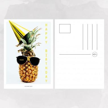 designfeder   Postkarte Happy Birthday