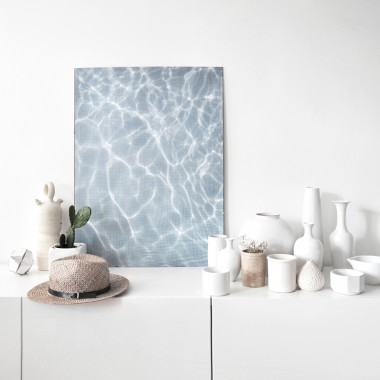 na.hili endless summer SET WIND & WATER Artprint A1 Poster