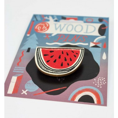 Martin Krusche - Woodpin »Watermelon«
