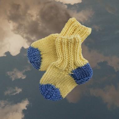 We Make Patterns - Baby Socks Set Blue