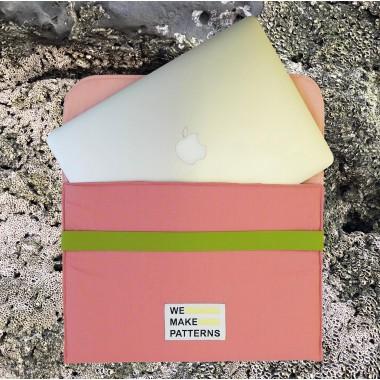 We Make Patterns - Laptop Bag Pink