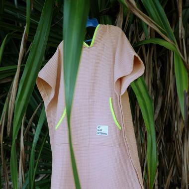We Make Patterns - Surf Poncho Rosé