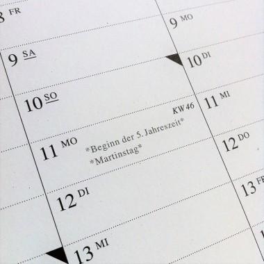 Der Wandkalender 2019