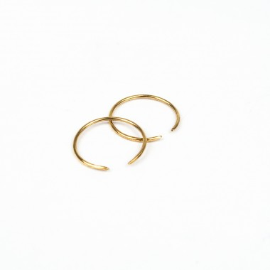 ST'ATOUR XENIA MAXI – offene (Ohr)Ringe in Gold, Silber oder Roségold