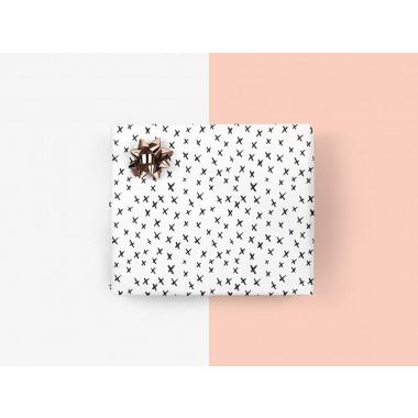 5x Geschenkpapier / XXX (gefaltet)