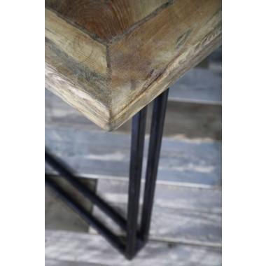 Esstisch aus Bauholz & Eisen Yael 190 x 90 cm