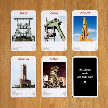 ZECHEN STECHEN – Das Quartett der Ruhrbergwerke