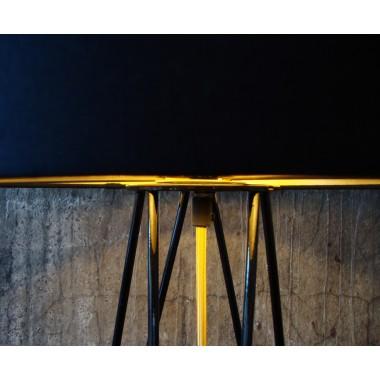 lukkizzi Tischleuchte HAIRPIN TL35 schwarz/gold