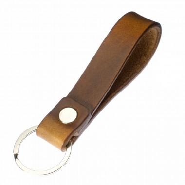 LIEBHARDT - LOVE Schlüsselanhänger aus Leder Geschenkidee zum Jahrestag Gravur / Prägung pflanzlich gegerbt
