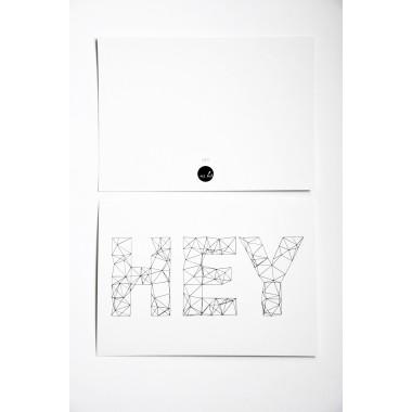 na.hili Postkarten HEY (10er-Set)