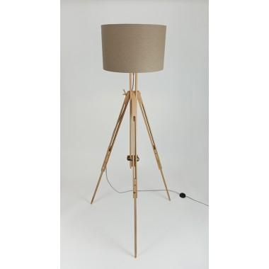 LJ Lamp γ - Staffelei-Stehlampe mit Textilkabel