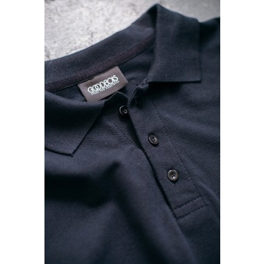Goodbois Signature Polo Longsleeve black