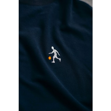 Goodbois Player Icon Piqué T-Shirt navy