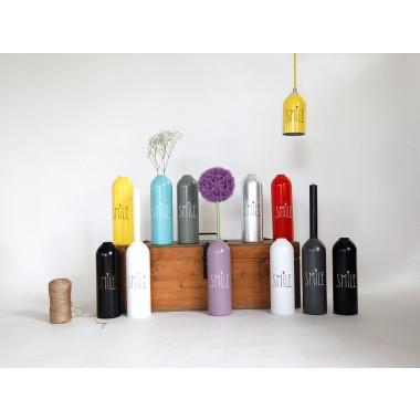 Kerzenhalter/Vase farbig