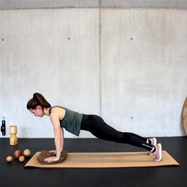 rollholz – Balanceboard zum Training für Gleichgewicht- & Koordinationsfähigkeit (Set groß)