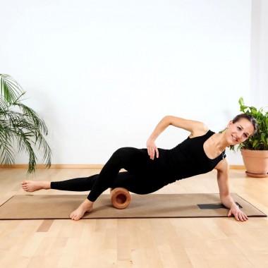 rollholz – Massagerolle aus Holz für Rücken, Nacken und Beine
