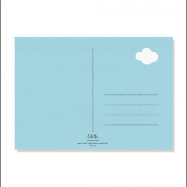 "Edith schmuckes Papier ""Alpaka"" Postkarte"