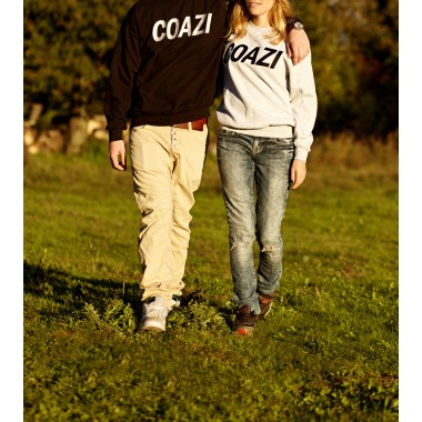 Coazi Label Sweater Black