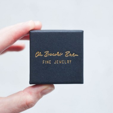 Stapelring VI offen aus 925 Sterlingsilber rosévergoldet