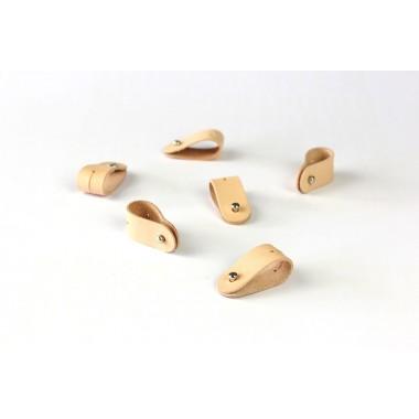 Alexej Nagel Kabel Organizer Set für deinen Alltag | Kabelbinder aus Leder [N]