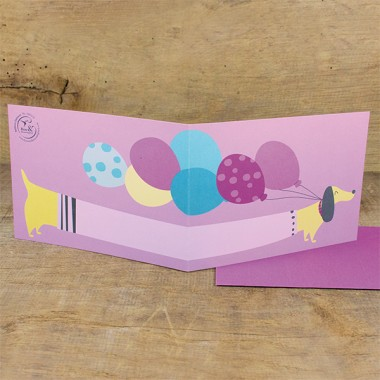 Bow & Hummingbird Geschenkverpackungs-Set Dogs