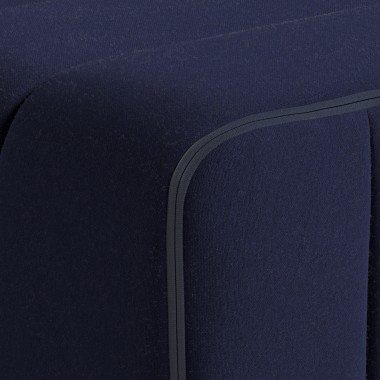 AMBIVALENZ Curt Set 3 Module – Stoff Jet