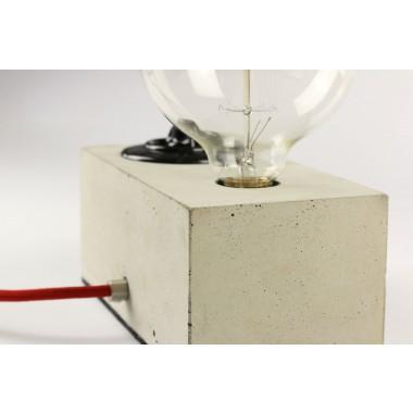 alexej nagel leuchte aus beton tischlampe. Black Bedroom Furniture Sets. Home Design Ideas