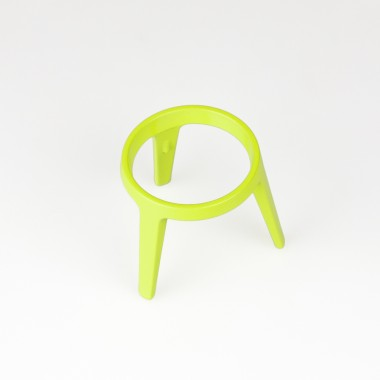 rocket - Design Eierbecher aus Metall (4er Set grün)