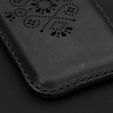 STUDIO MUNIQUE  Leather Phone Sleeve