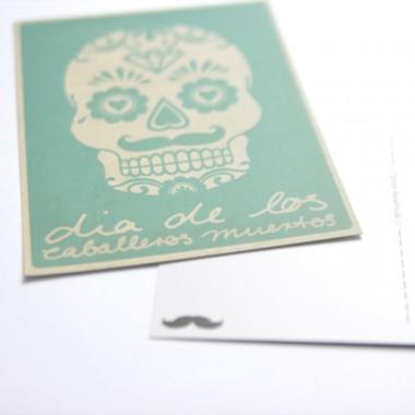 *Caballeros muertos Postkarten Set