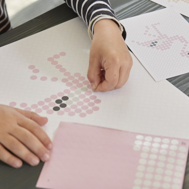 dot on art / DIY-Set – dotty Set für kleine Klebefans